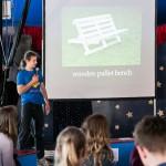 Die Workshopleiter*innen stellen sich vor / Workshopleaders introduce themselves