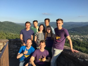 High above Baden-Baden